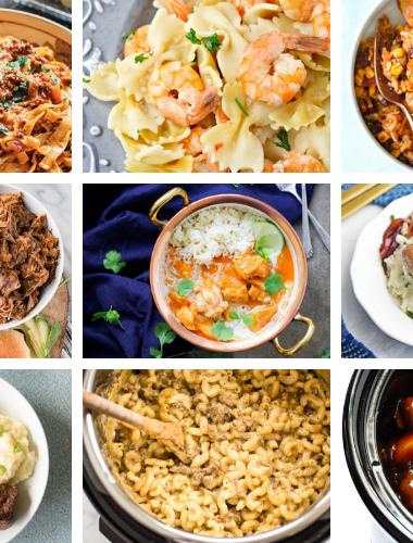 Instant Pot dinner recipes