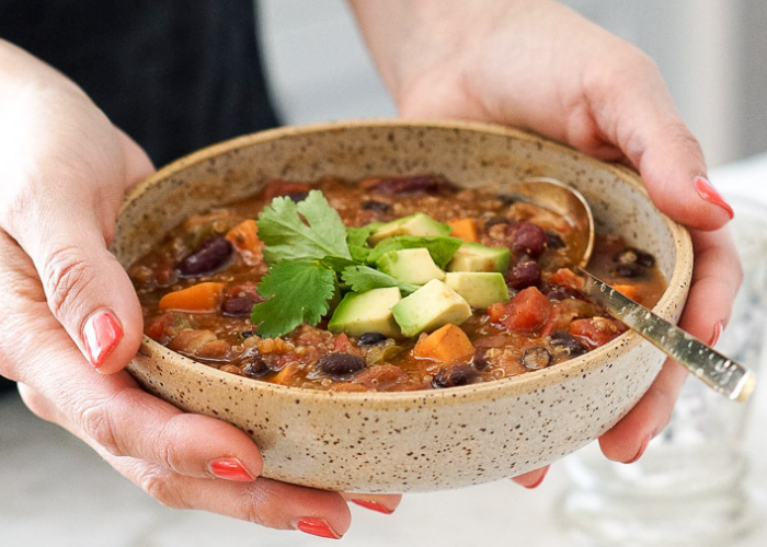 Instant Pot soups Vegetarian Chili