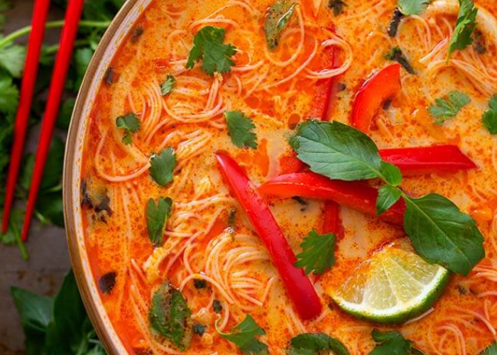 Instant Pot soup recipes Coconut Noodle Curry