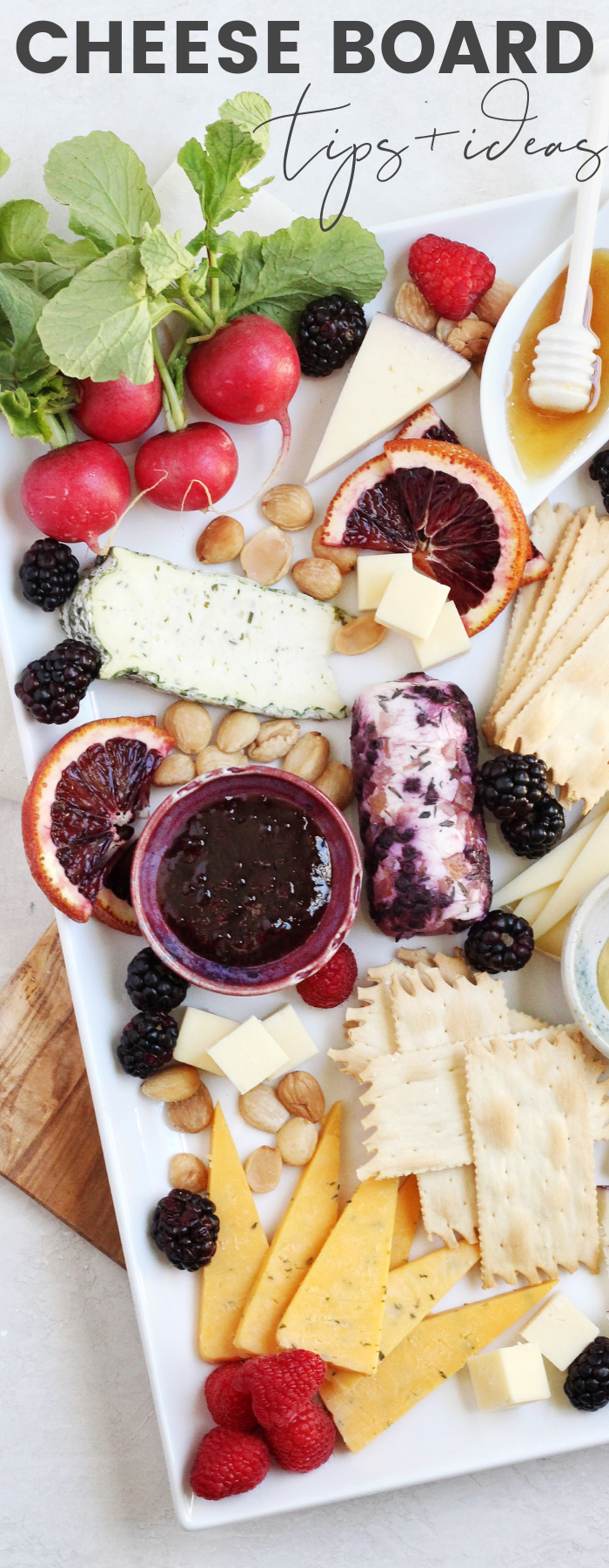 Create the perfect cheese tray with these tips, tricks, and cheese board ideas from a professional cheesemonger! From what cheeses to choose to what to pair them with. #sponsored #FredMeyer #MurraysCheese