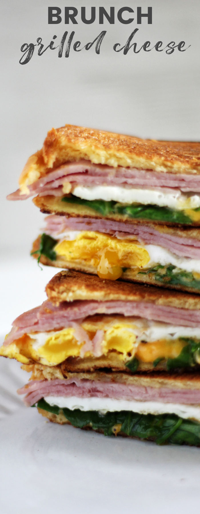 Breakfast Grilled Ham and Cheese