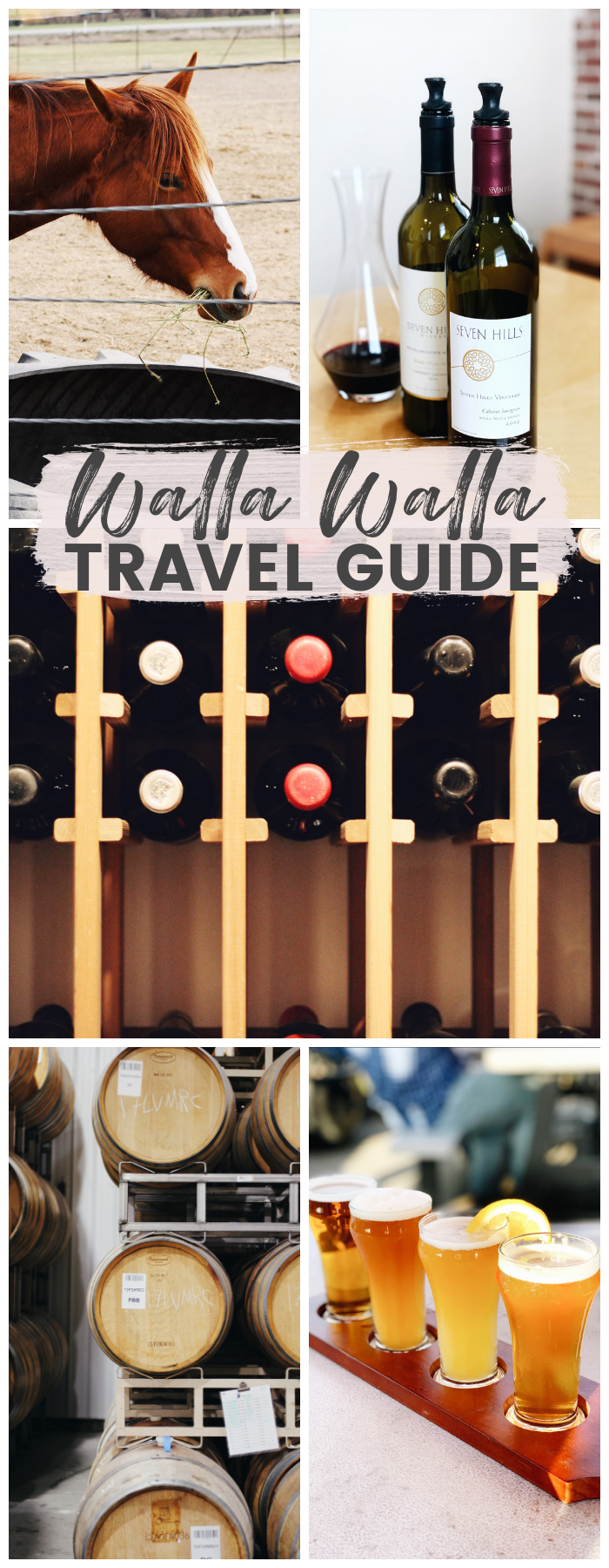 This travel guide covers the best things to do in Walla Walla, Washington; from wineries to restaurants to where to stay.