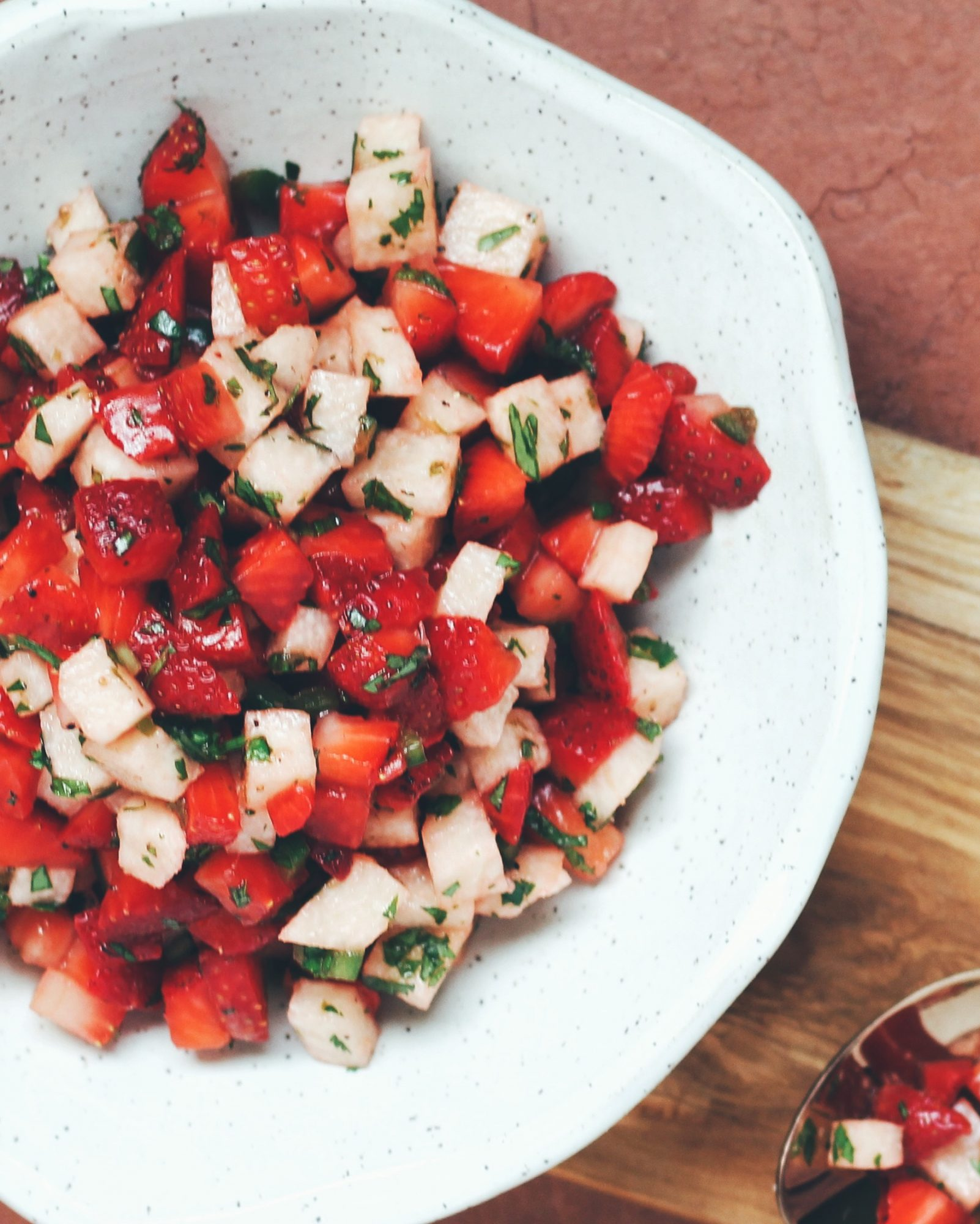 Sweet, spicy, and delicious summer Strawberry Salsa