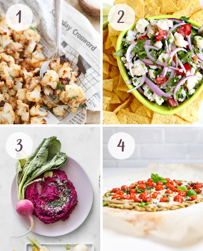 Vegan cauliflower recipes that are colorful, quick, and delicious