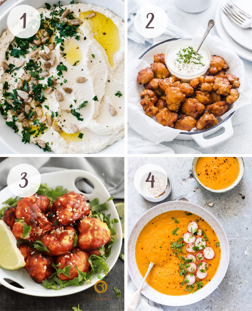 Delicious vegan cauliflower recipes beyond rice and pizza crust
