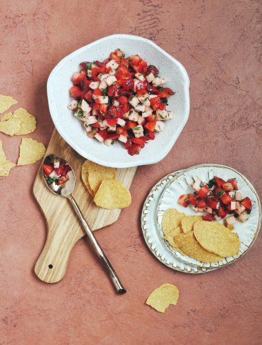 Jicama Strawberry Salad