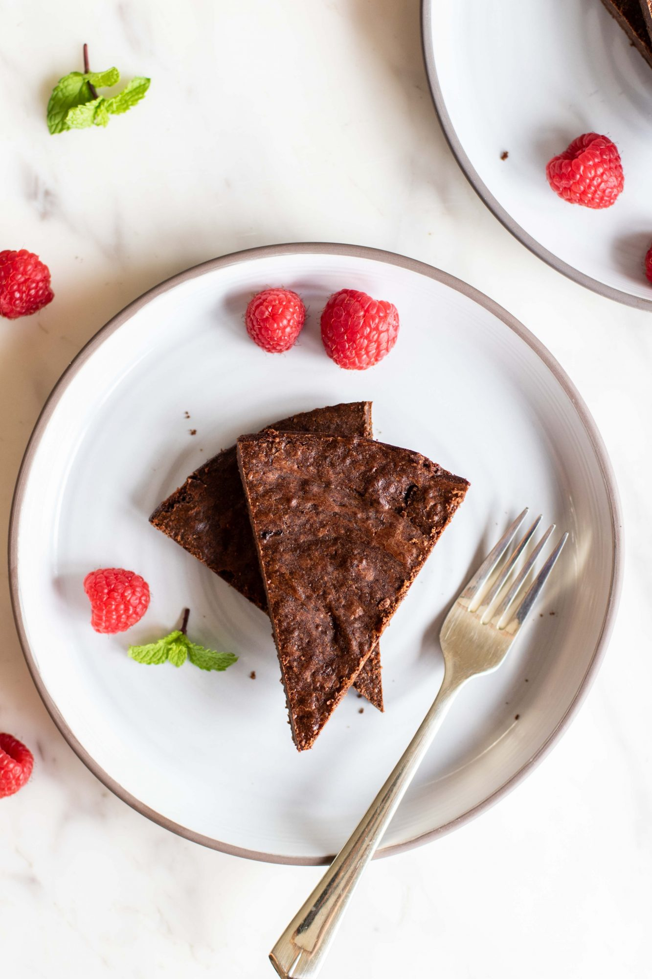 Super fudgy coconut oil brownies