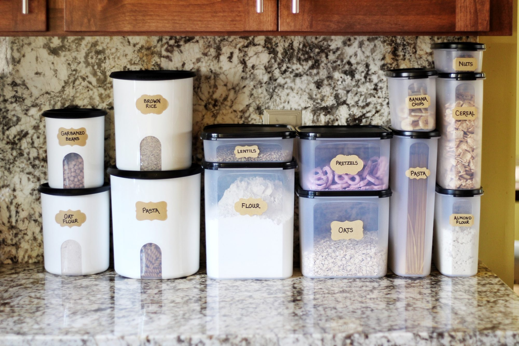 Pantry staples for a stocked and healthy kitchen