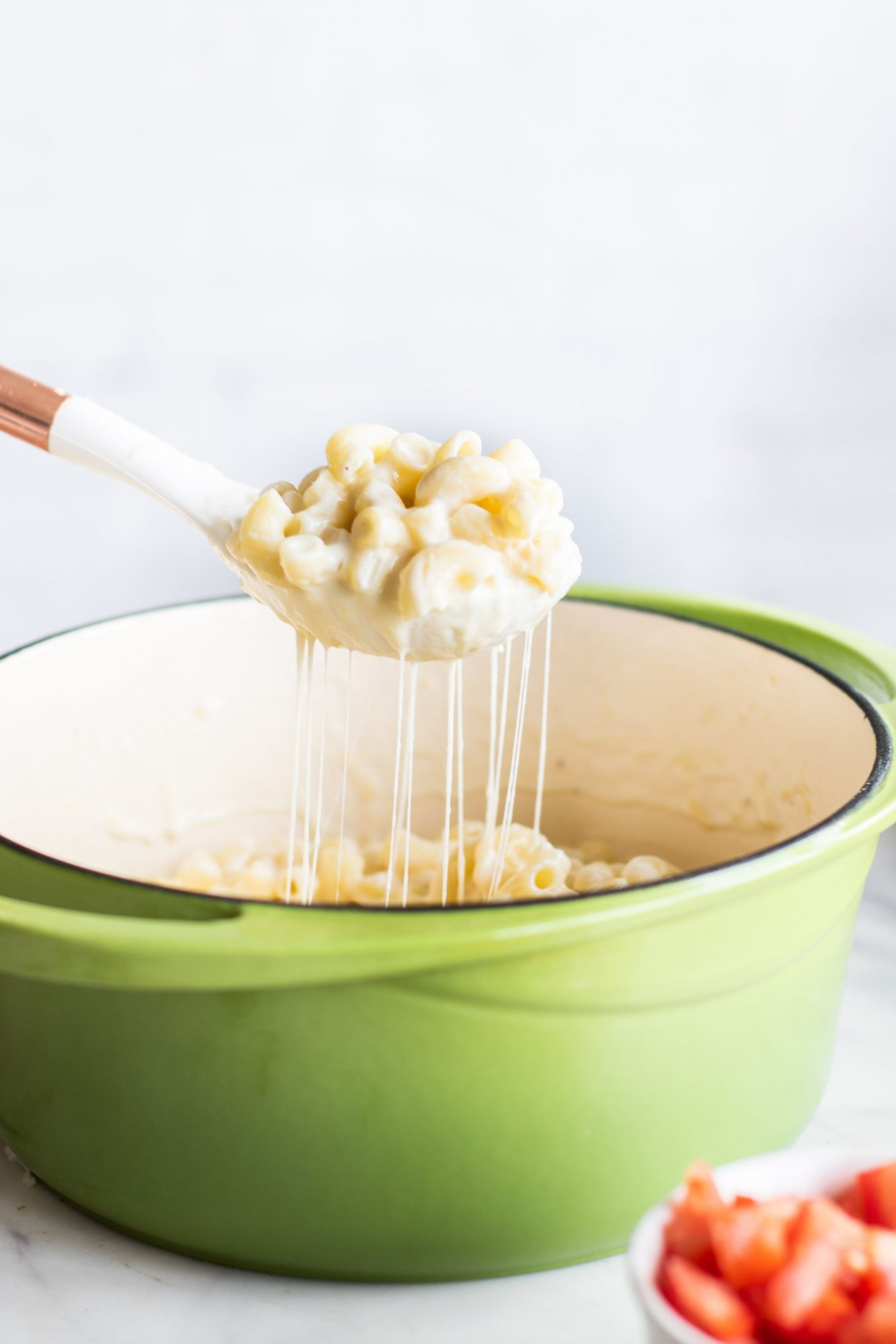 The easiest and cheesiest One Pot Mac and Cheese.
