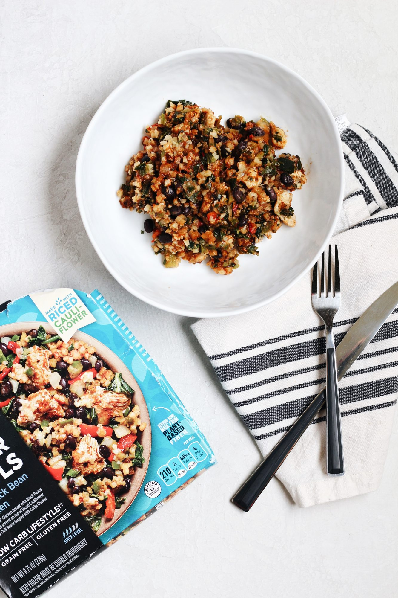 Healthy Choice Grain-Free Power Bowls make a great healthy frozen meal option