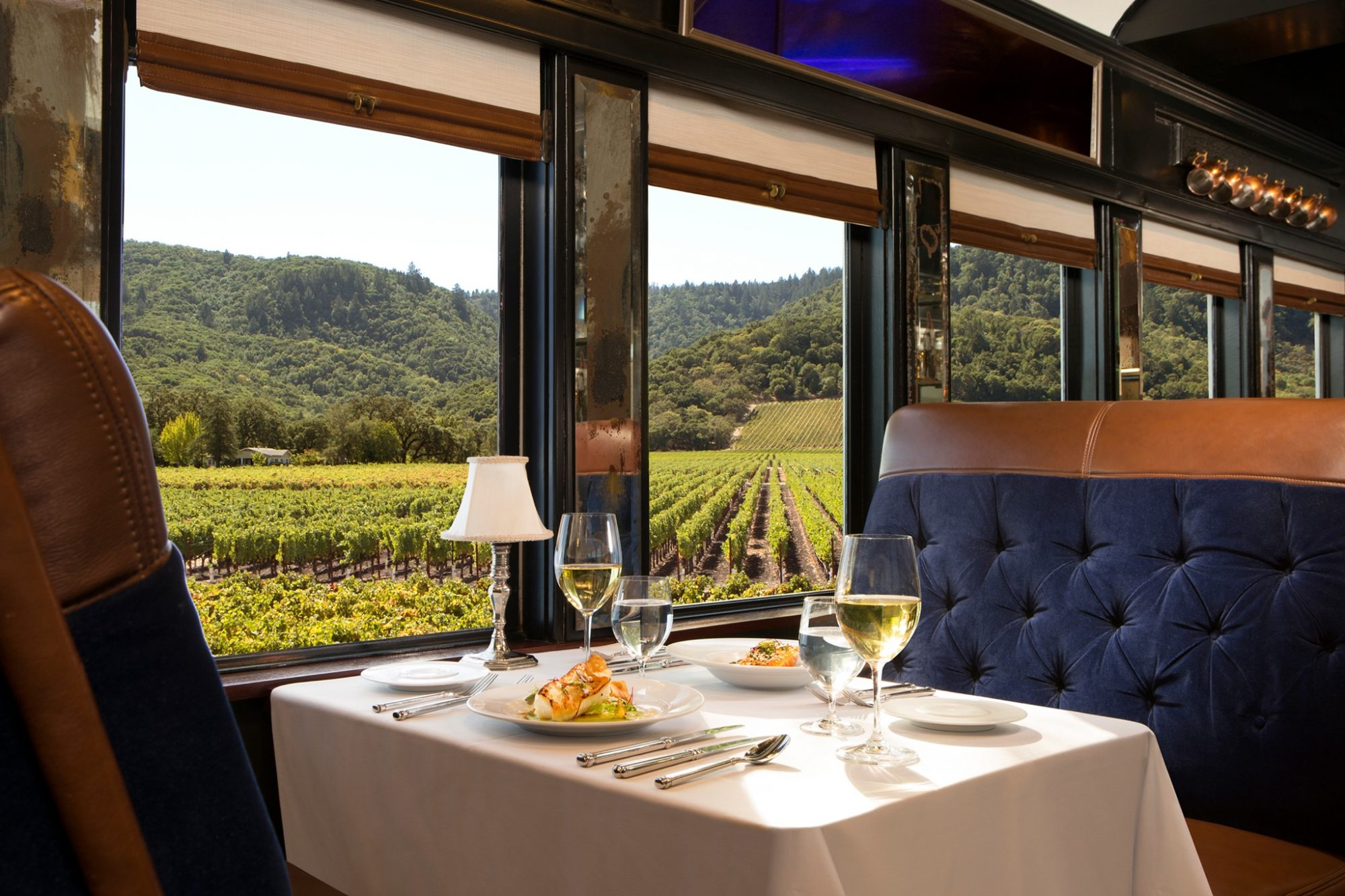 add the wine train to your Napa Valley travel guide