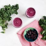 healthy Blueberry Kale Smoothie is an easy on-the-go recipe
