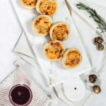 Puff Pastry Pinwheels with Apple, Cheddar and Bacon