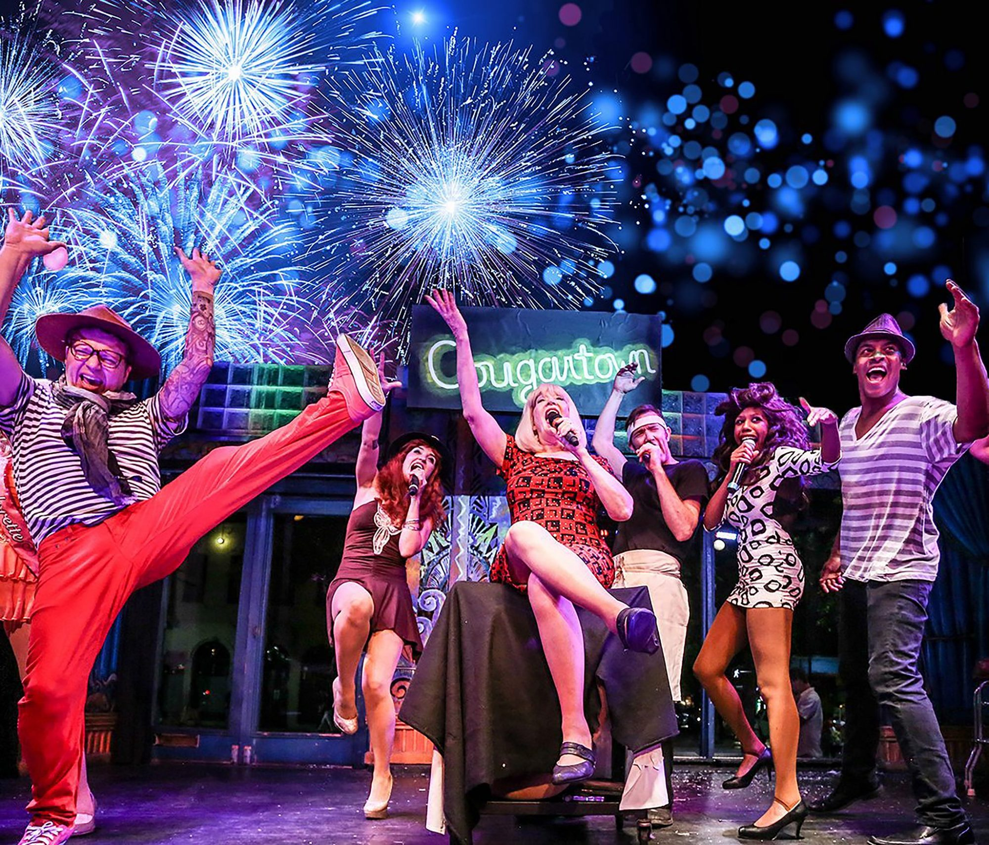 Enjoy local Austin entertainment and flair at Esther's Follies