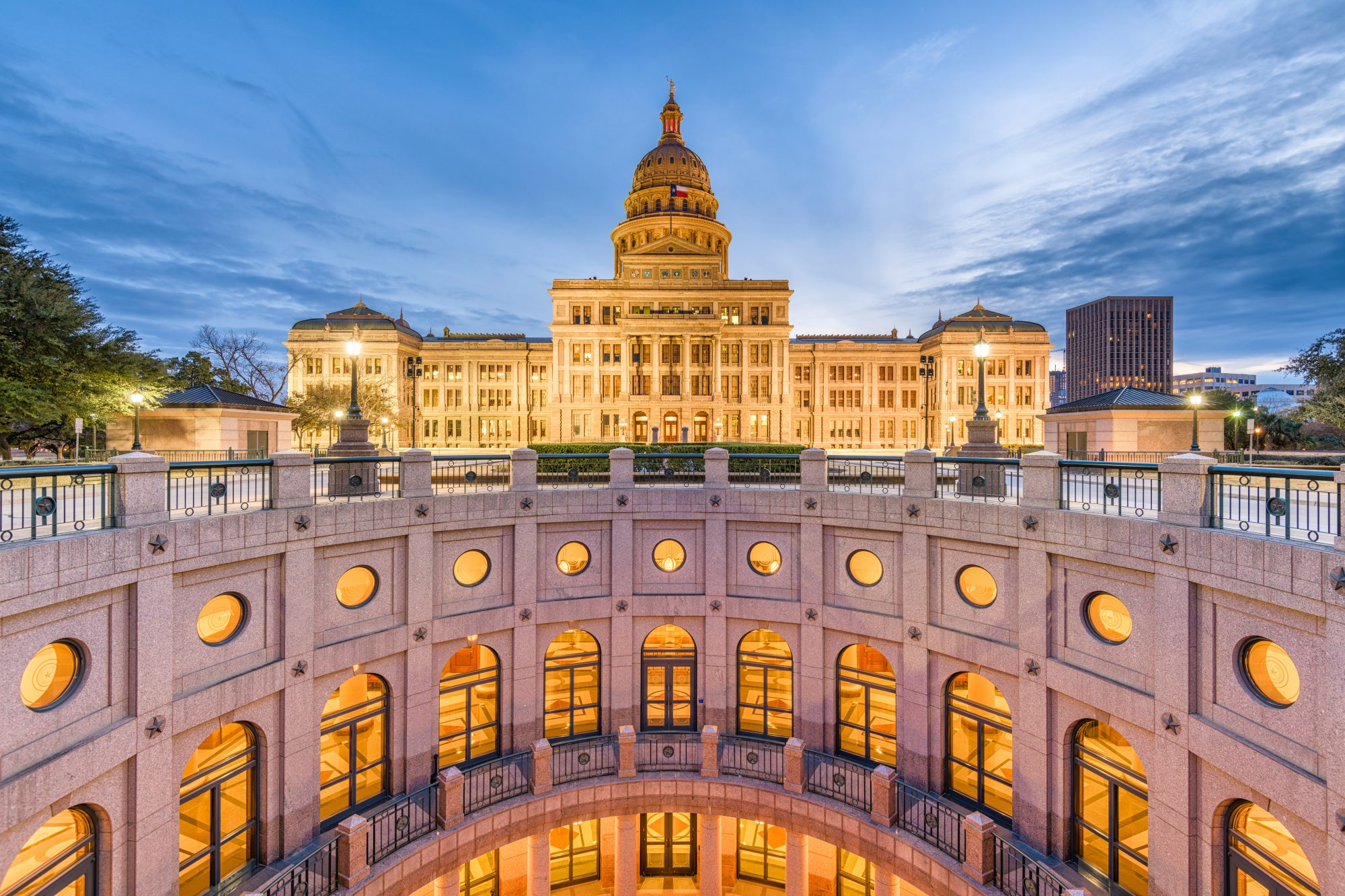 Austin, Texas at the Texas State Capitol
