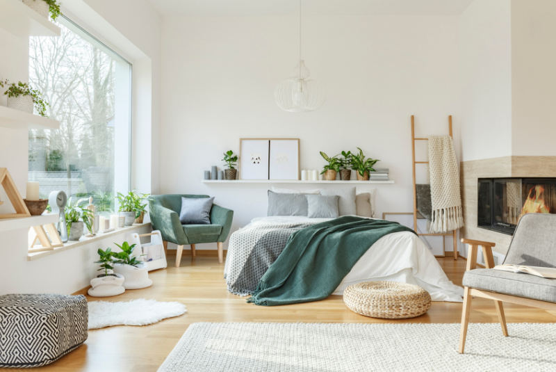 turn your bedroom into a sanctuary with hygge