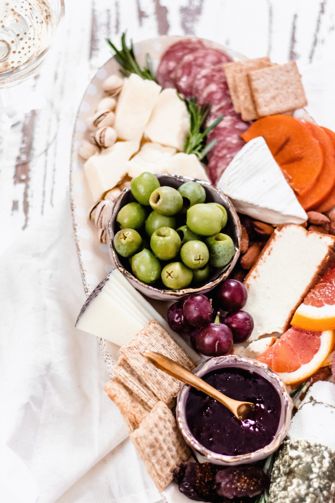 The perfect winter charcuterie board, step by step