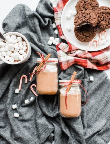Mexican Hot Chocolate Mix (and free printable gift tags!)