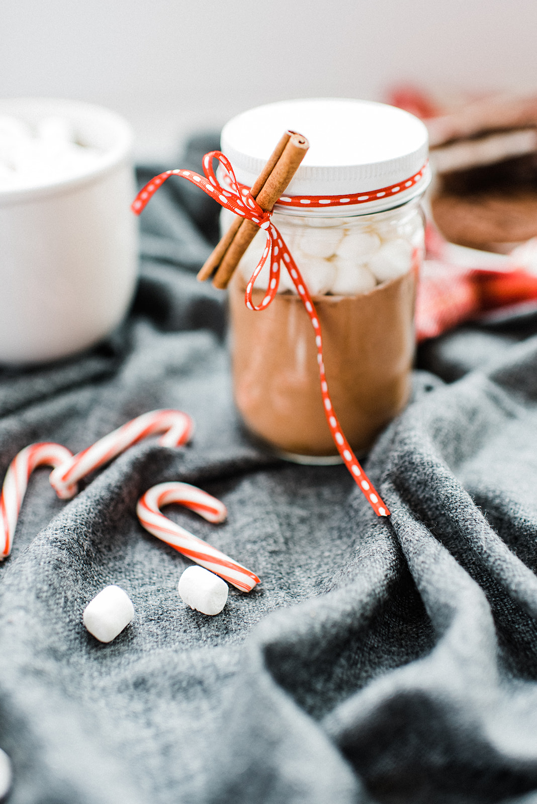 Hot Cocoa Jars make excellent winter gifts