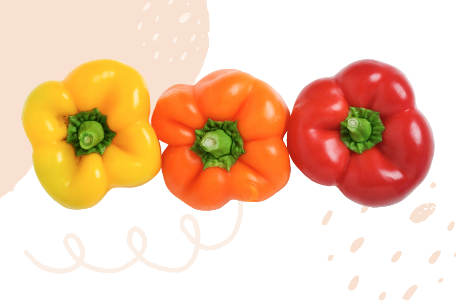 immune boosting bell peppers contains more vitamin C than an orange