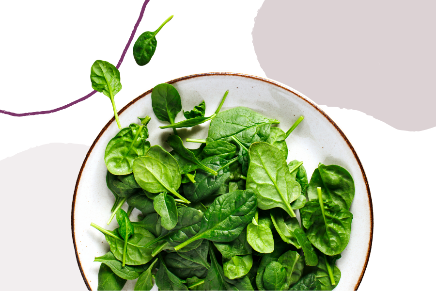 Spinach is a great food to increase immunity