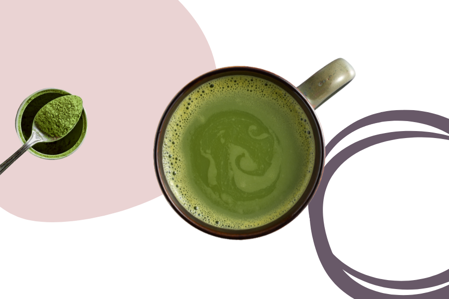 Green tea is full of antioxidants