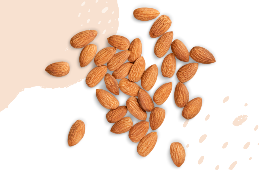 Almonds are a great choice for vitamin E