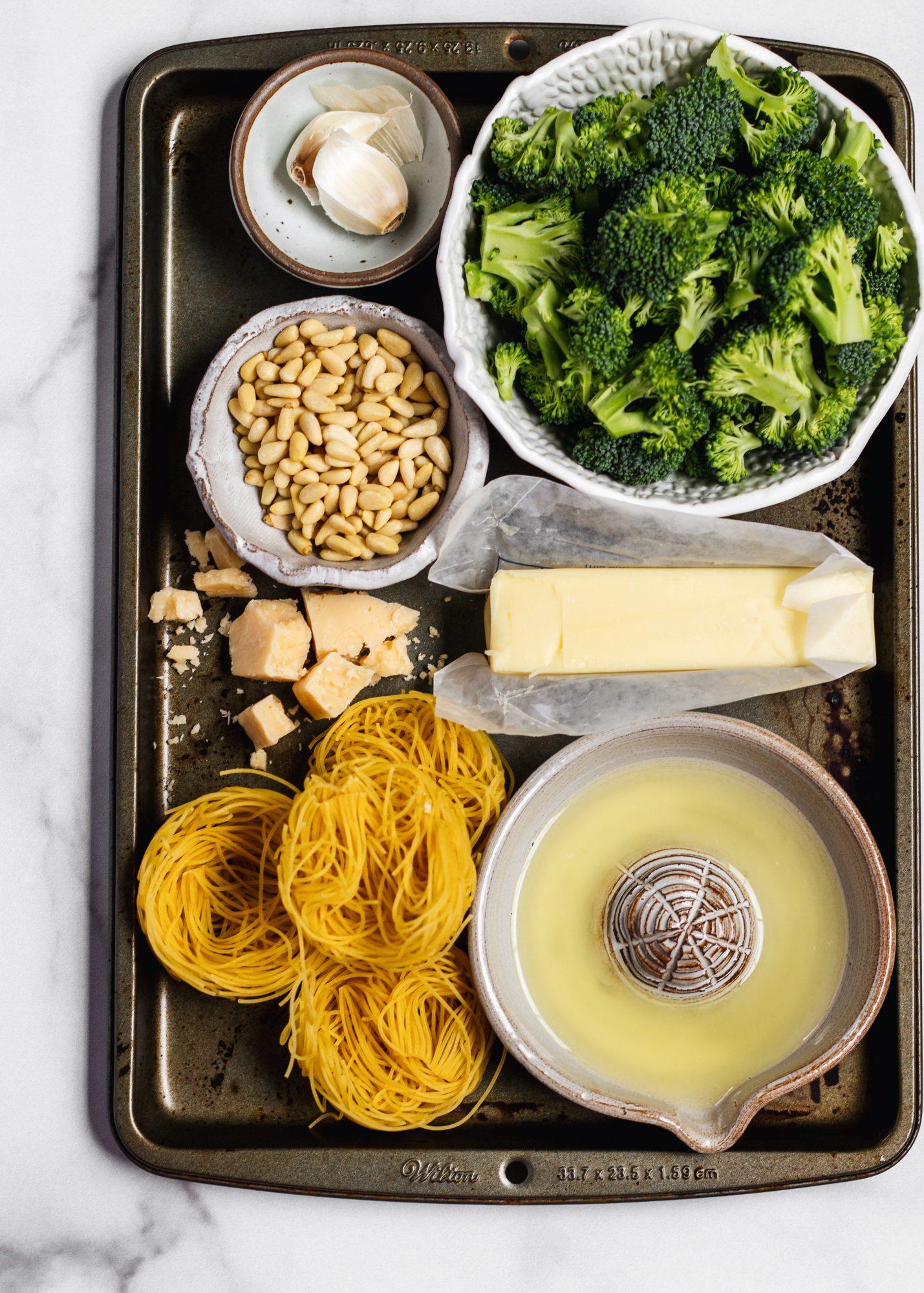 Creamy butter lemon pasta