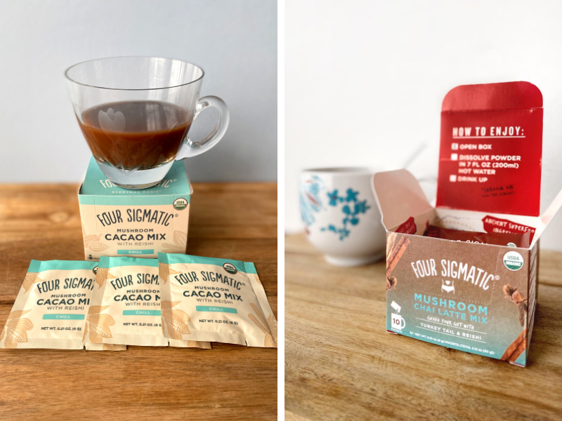 Four Sigmatic offers other products besides mushroom coffee