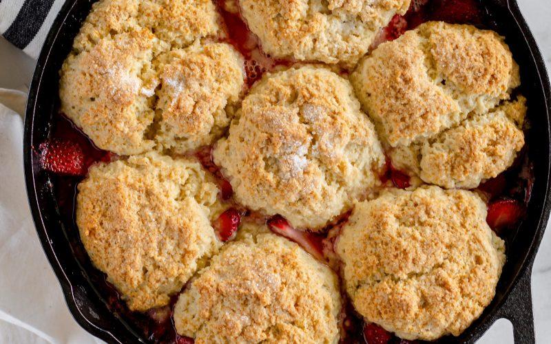 Strawberry Shortcake Skillet