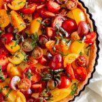 ricotta tomato tart recipe