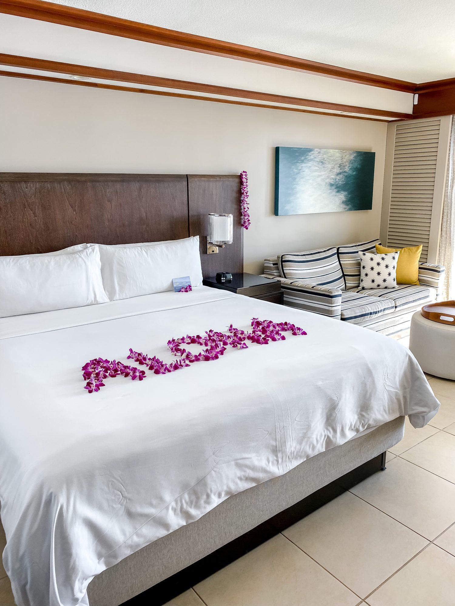 a room at Wailea Beach Resort