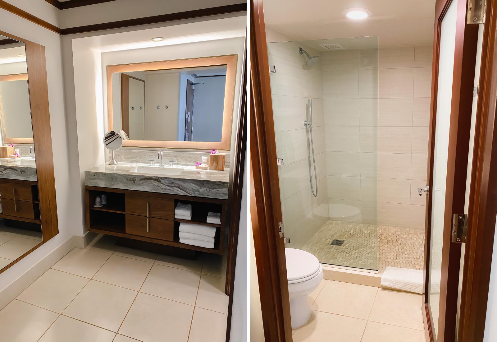 bathroom at Wailea Beach Resort