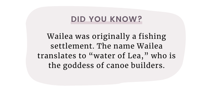what does wailea mean?