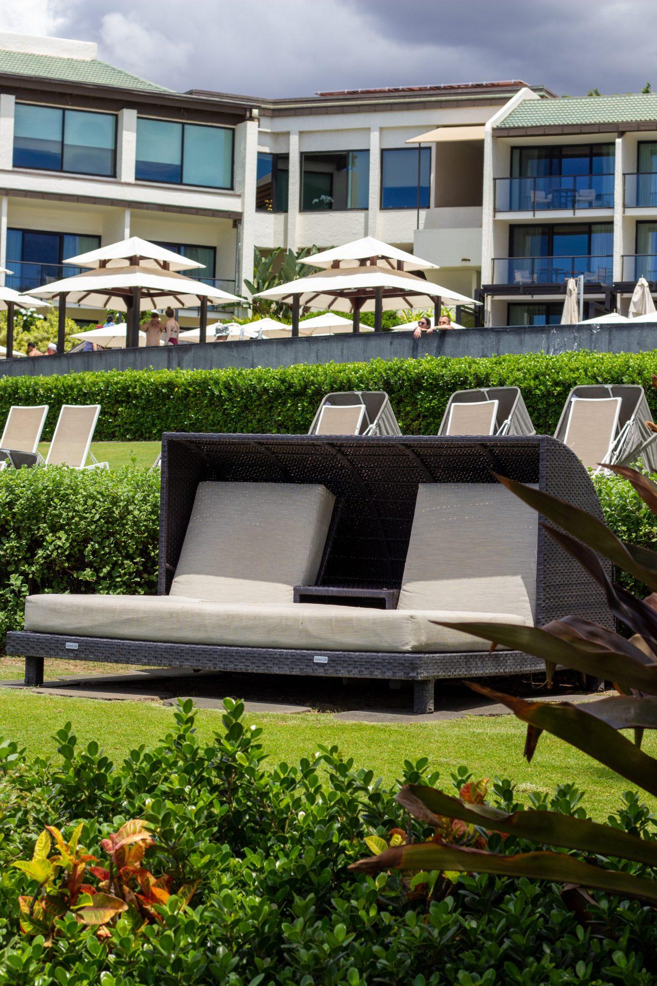 cabanas at Wailea Beach Resort